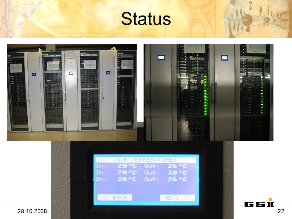 Status 28.10.2008IT-Palaver - Helmut Kreiser / IT 22