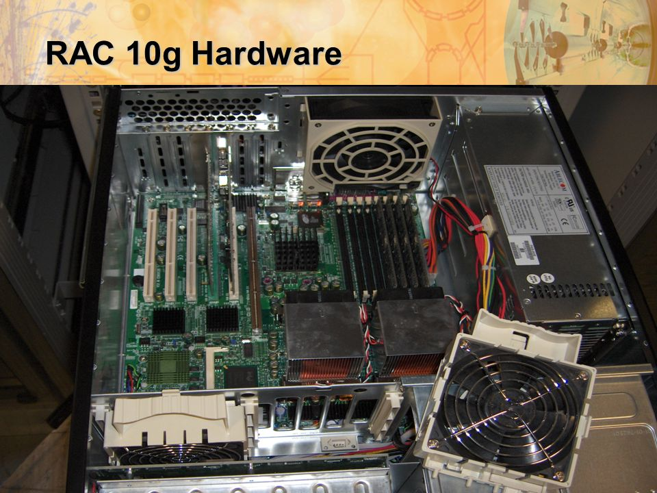 IT-Palaver 14/6/2005Oracle @ GSI 7 RAC 10g Hardware