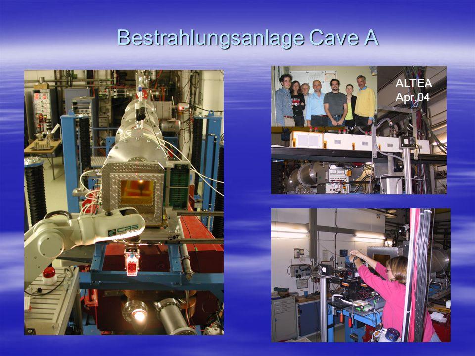 Bestrahlungsanlage Cave A ALTEA Apr.04