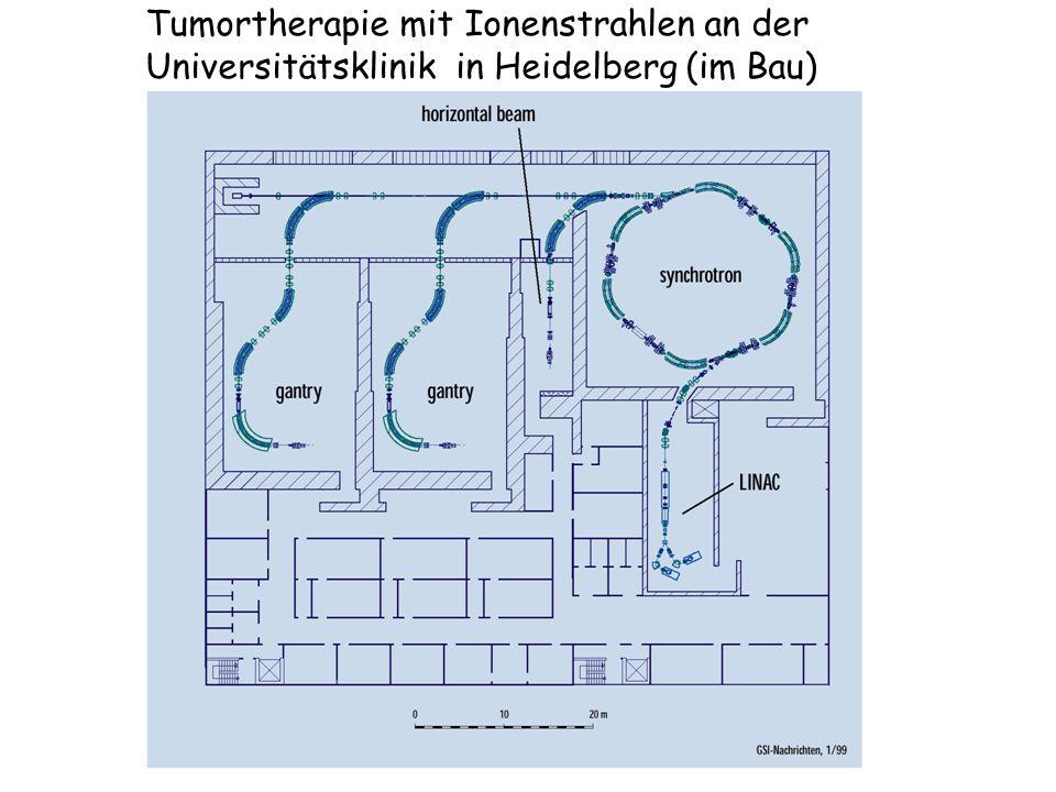 Tumortherapie mit Ionenstrahlen an der Universitätsklinik in Heidelberg (im Bau)