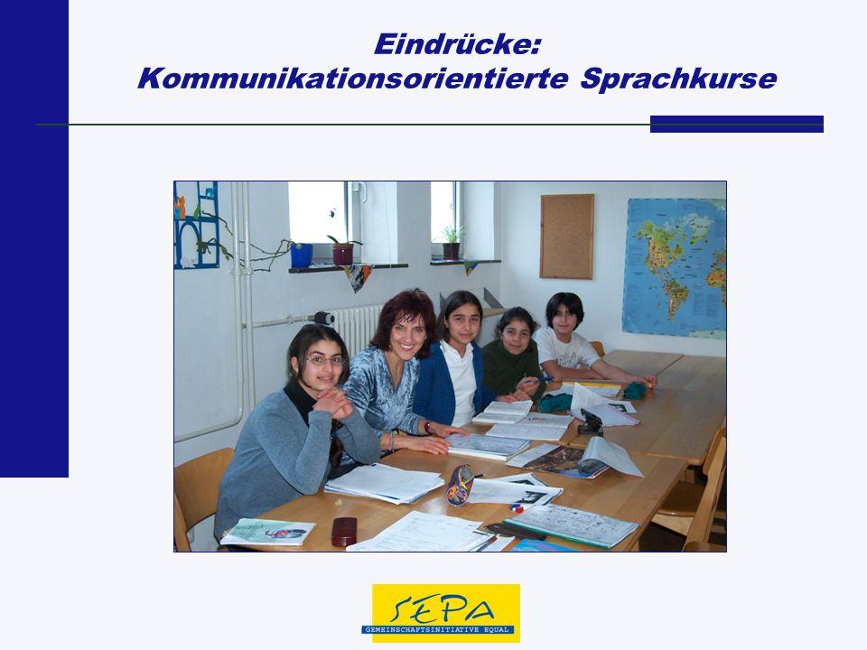 Eindrücke: Kommunikationsorientierte Sprachkurse