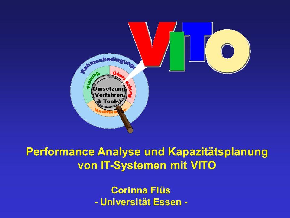 Corinna Flüs - Universität Essen - Performance Analyse und Kapazitätsplanung von IT-Systemen mit VITO
