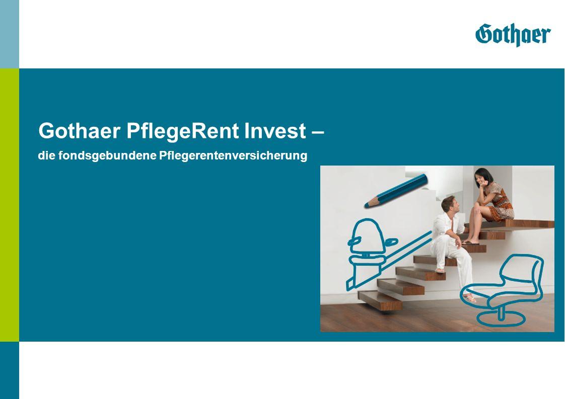 Gothaer PflegeRent Invest – 01.2013 Chart 2 Gothaer PflegeRent Invest – Pflegesituation in Deutschland durch Angehörige: 1,07 Mill.