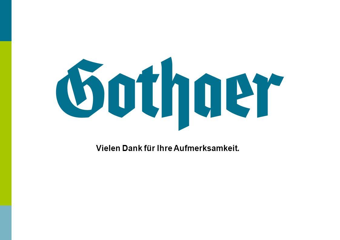 Gothaer PflegeRent Invest – 01.2013 Chart 20 Vielen Dank für Ihre Aufmerksamkeit.