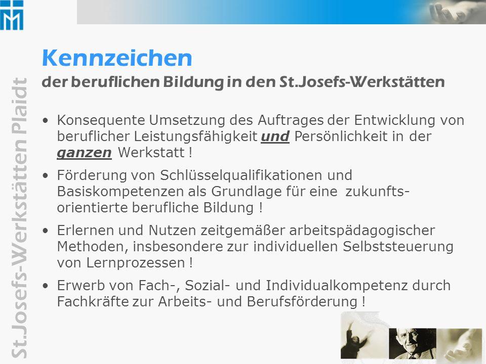 St.Josefs-Werkstätten Plaidt Kennzeichen...