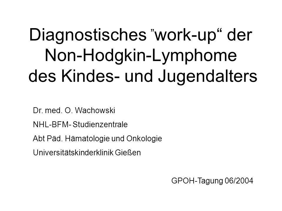 Materiallabor NHL ZytomorphologieGenetikZellbankSerumbank Prof.