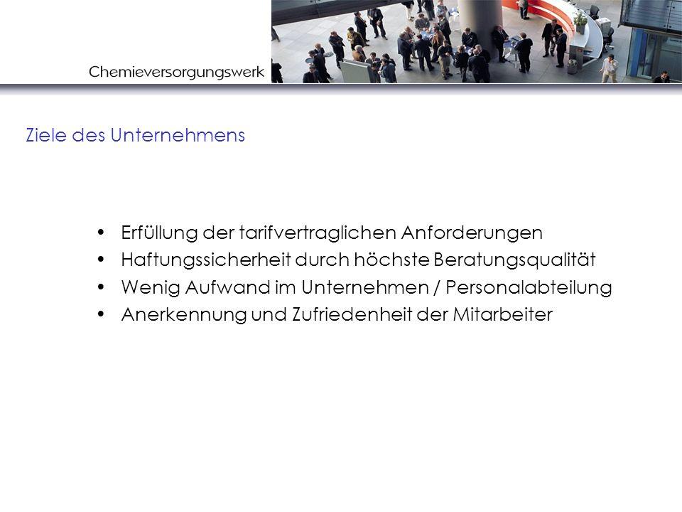 Wenig Störungen im Betriebsablauf Praxisbewährte, standardisierte Informationssysteme und Handlungsabläufe Ein großer Stab an qualifizierten Beratern, der deutschlandweit Die Informationen und Beratungen - schnell - mit gleichem Standard - deutschlandweit an den verschiedenen Standorten