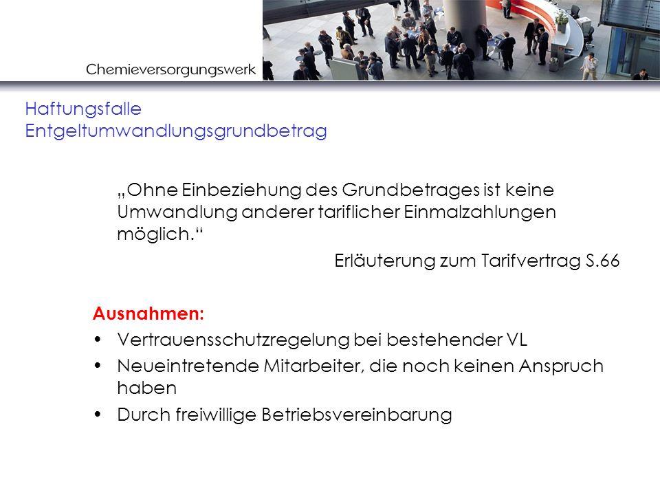 Chemiekonsortialvertrag Direktversicherung Kl.