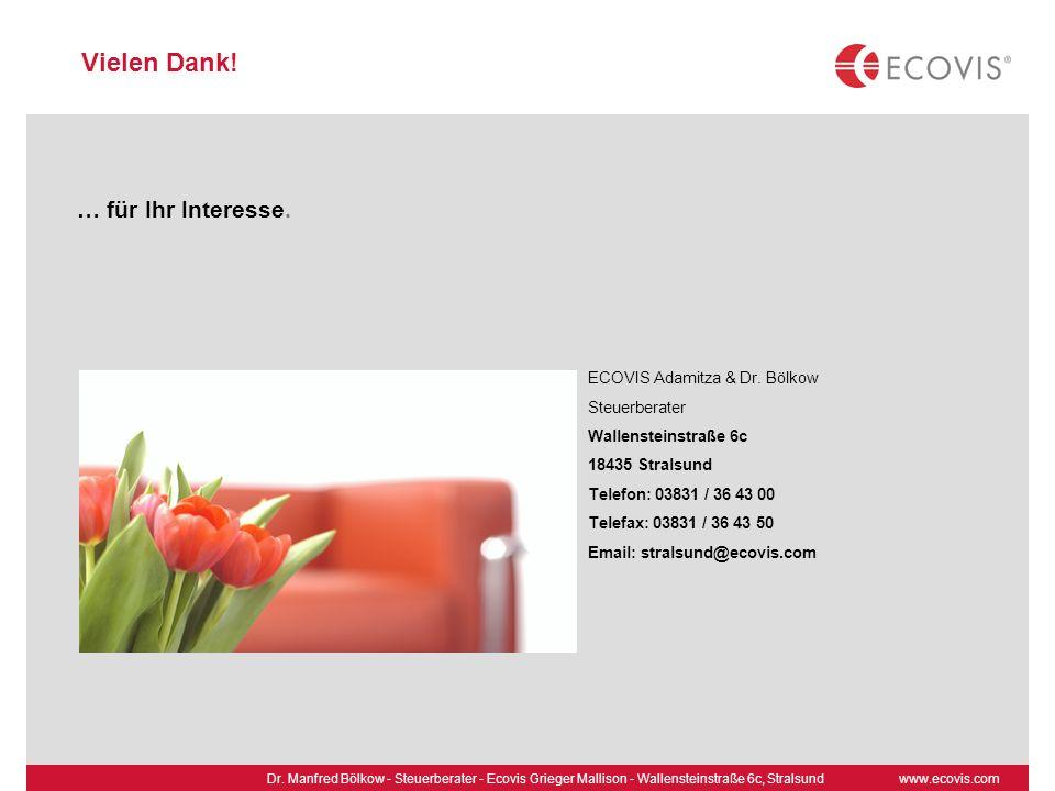 www.ecovis.comDr.