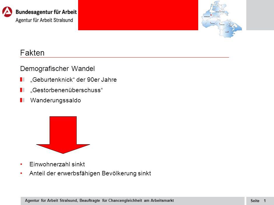 Putbus, den 25.06.2009 Marketing – Chancen und Herausforderungen für die BA Aktuelle Fachkräftesituation vor dem Hintergrund des demografischen Wandel