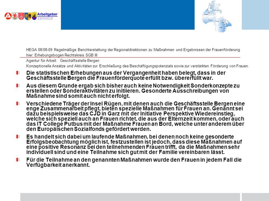23. März 2010 Marketing – Chancen und Herausforderungen für die BA Der Rügener Arbeitsmarkt – Veränderungen und Aufgaben Vielen Dank für Ihre Aufmerks
