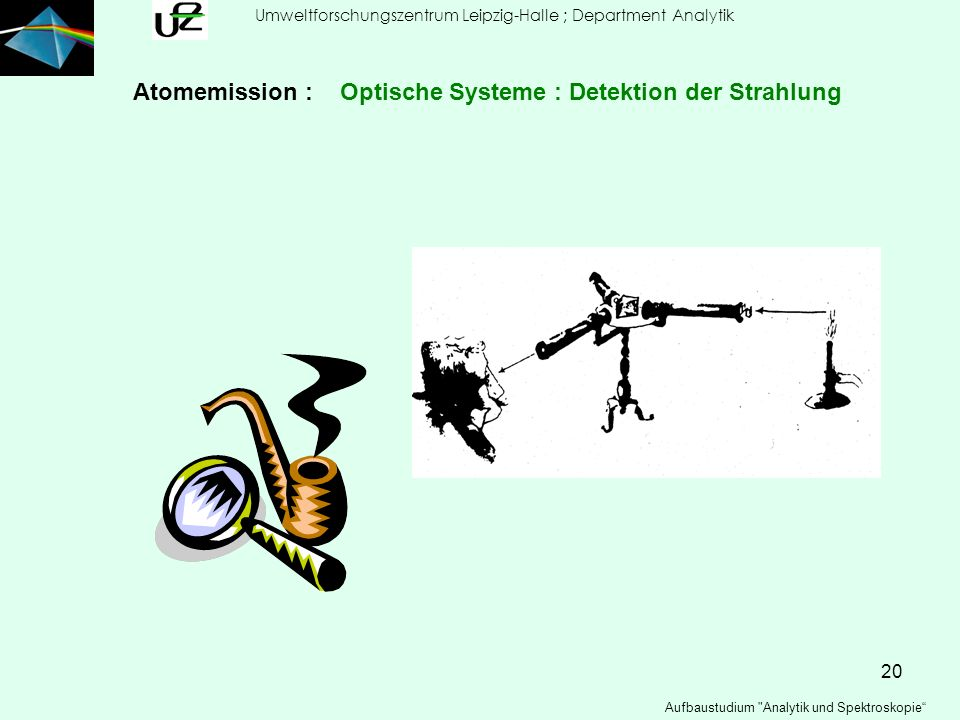 20 Umweltforschungszentrum Leipzig-Halle ; Department Analytik Aufbaustudium
