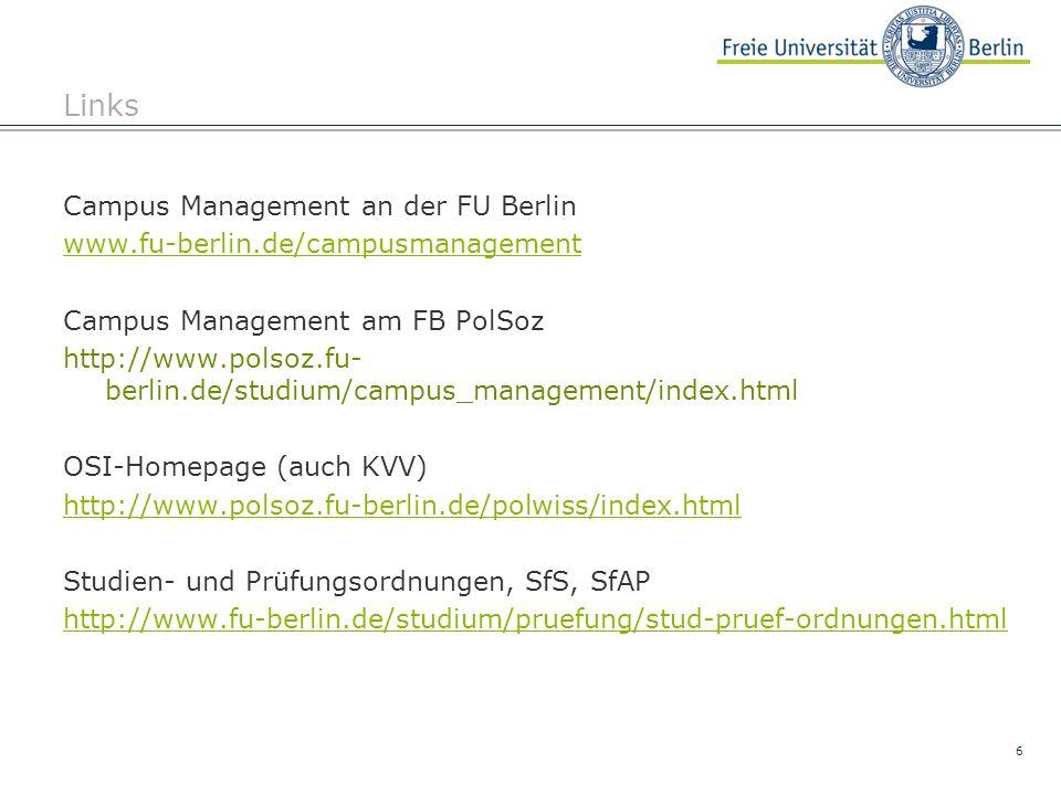 7 Kontakt - Studienbüro Studienordnung, Prüfungsordnung, Lehrveranstaltungen, Account-Freischaltung; Campus Management; Fragen zu Eingabe v.