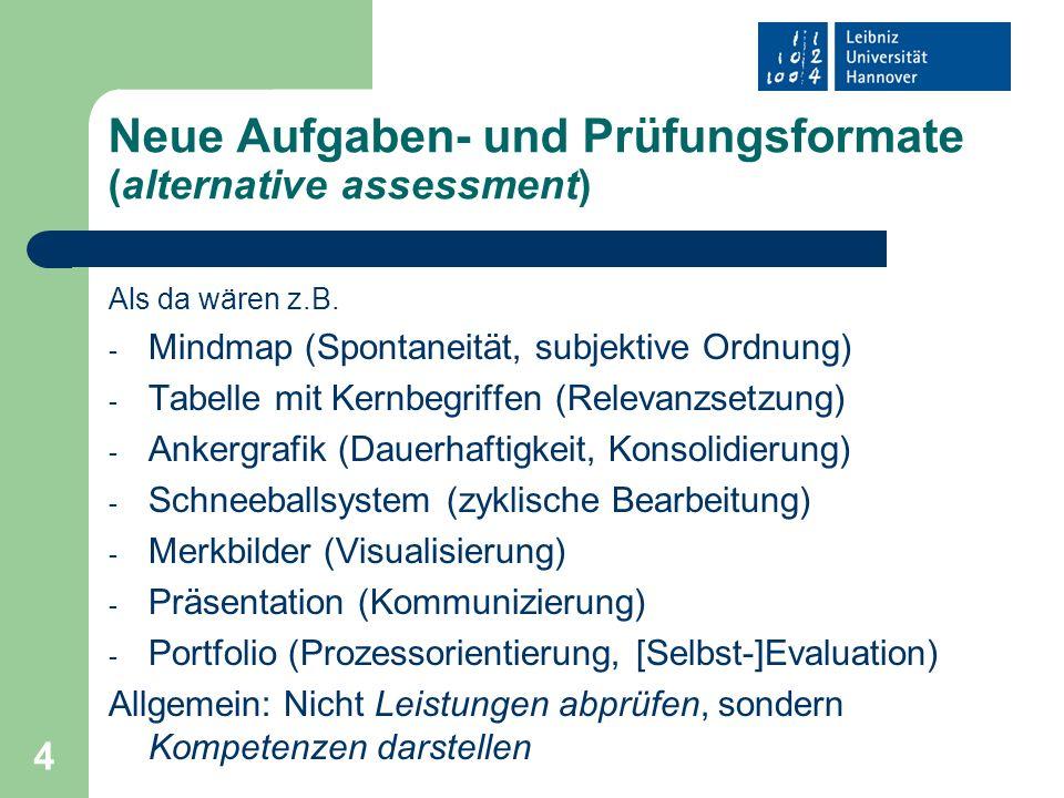 15 Mögliche Gliederung eines evaluativen Arbeitsprozessberichtes II 3.