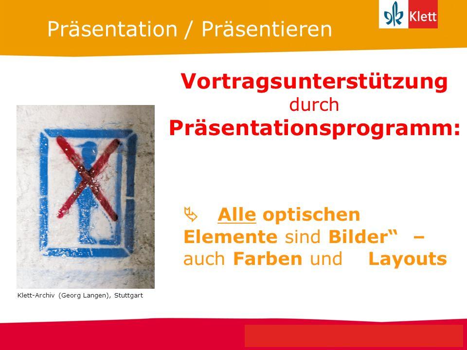 Seite 5 Klett Geschichte Oberstufe Perspektiven für NRW Vortragsunterstützung durch Präsentationsprogramm: Präsentation / Präsentieren Alle optischen