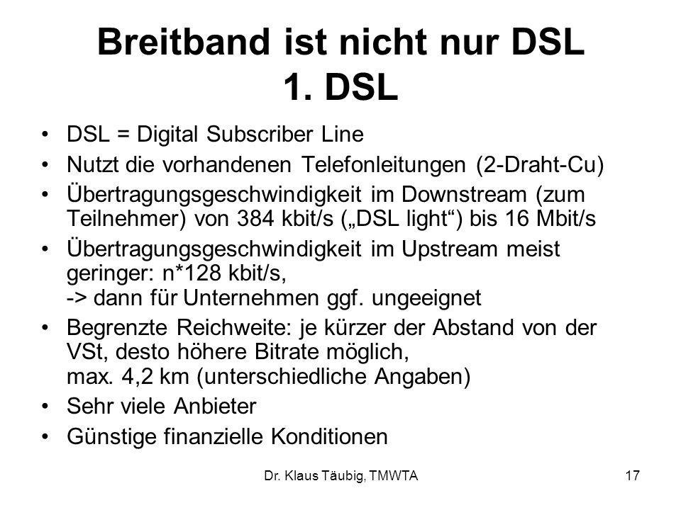 Dr.Klaus Täubig, TMWTA17 Breitband ist nicht nur DSL 1.