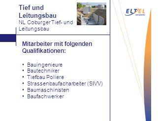 Abtragen Mitarbeiter mit folgenden Qualifikationen: Bauingenieure Bautechniker Tiefbau Poliere Strassenbaufacharbeiter (SIVV) Baumaschinisten Baufachw
