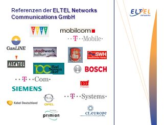 Entgraten Vakuum- Saugstrahlen ELTEL Networks Communications GmbH Referenzen der ELTEL Networks Communications GmbH