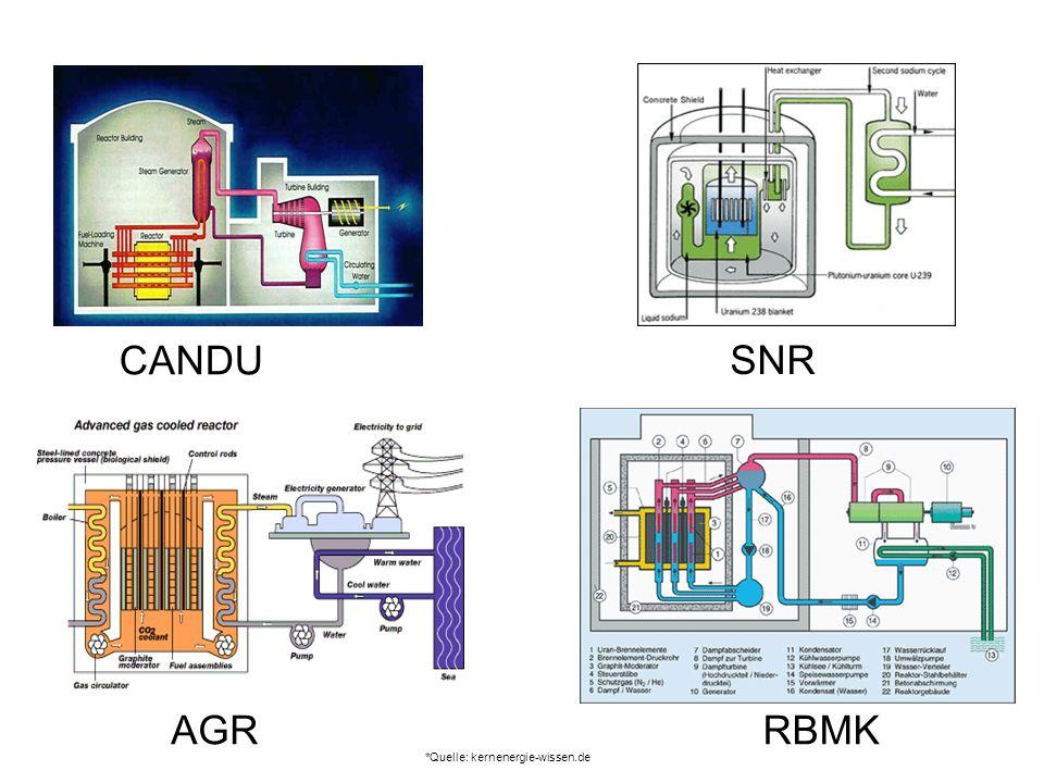 CANDU AGRRBMK SNR *Quelle: kernenergie-wissen.de