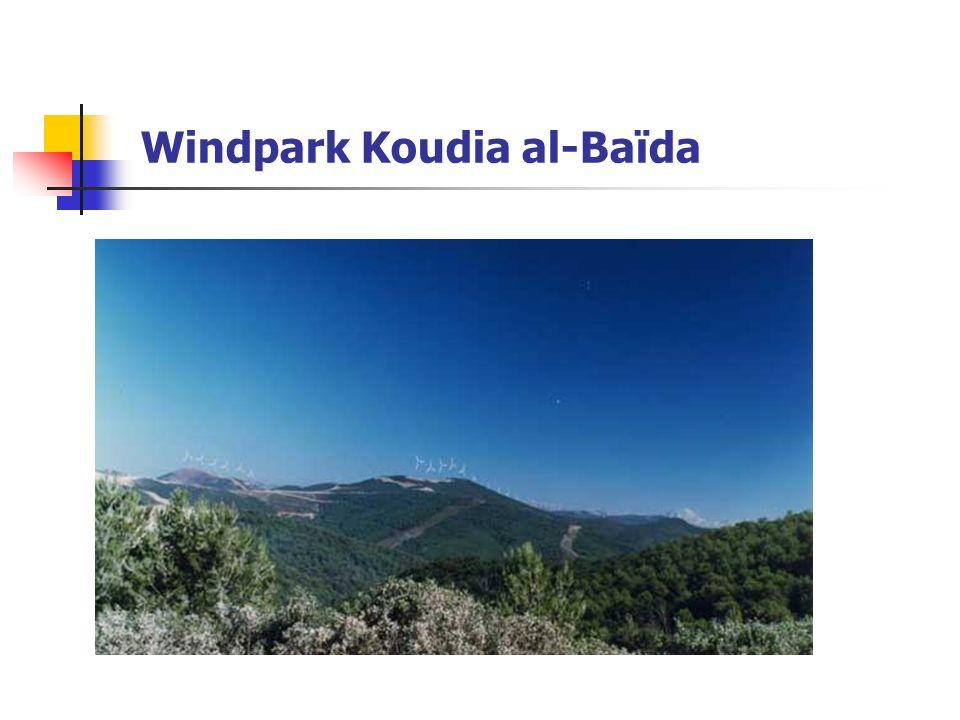 Windpark Koudia al-Baïda