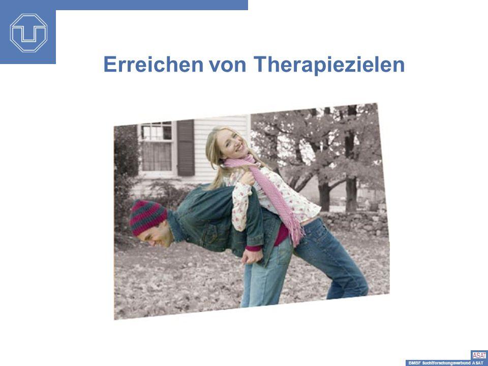BMBF Suchtforschungsverbund ASAT Erreichen von Therapiezielen