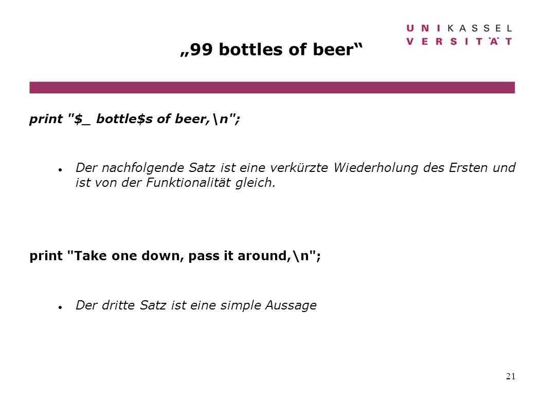 21 99 bottles of beer print