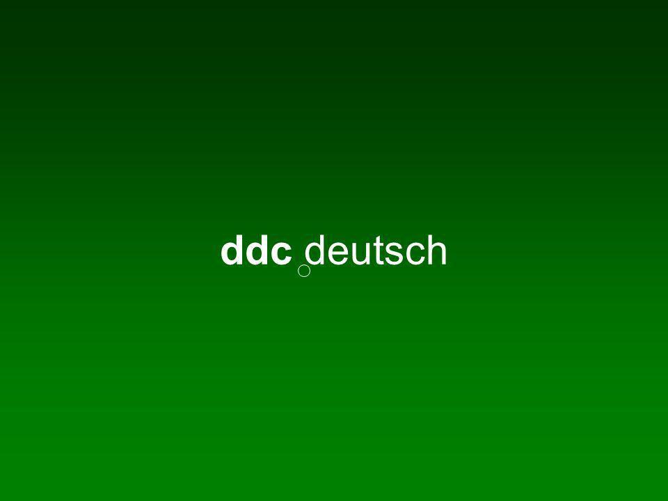 Wo bitte gehts zur DDC.