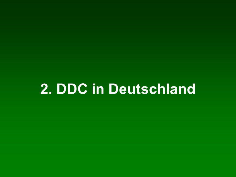 2. DDC in Deutschland