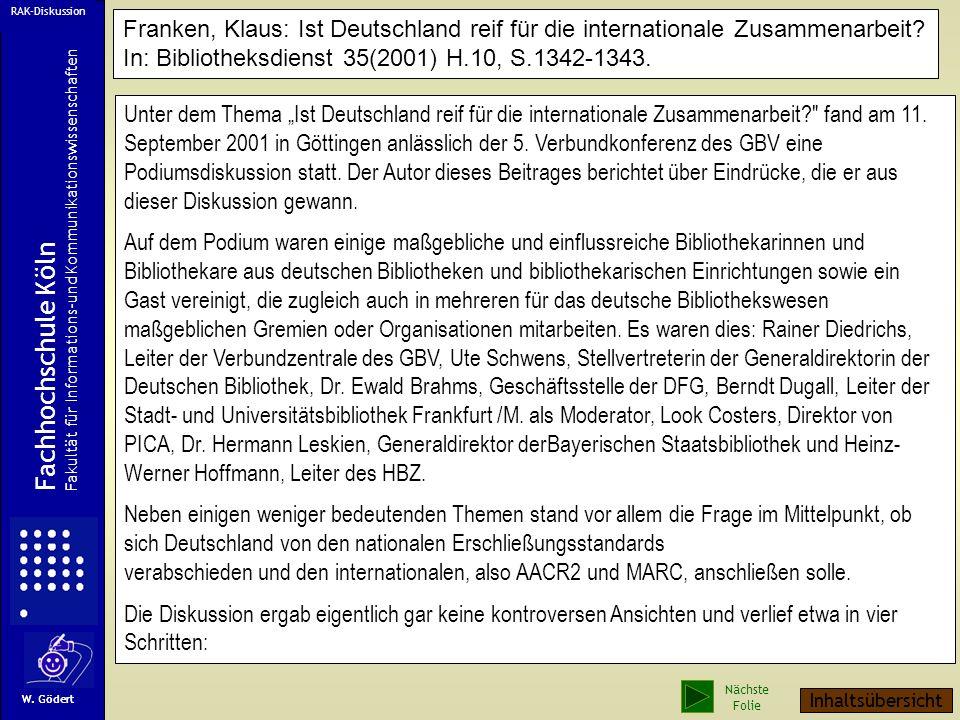 Unter dem Thema Ist Deutschland reif für die internationale Zusammenarbeit? fand am 11.