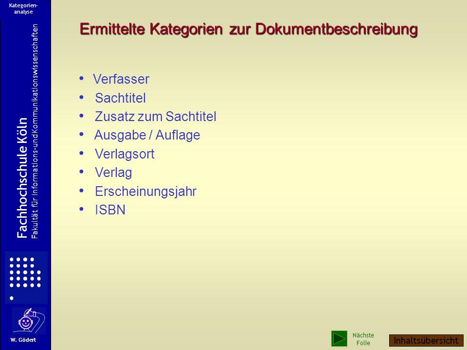 ISBN Ein Titelblatt Verfasser Sachtitel Zusatz zum Sachtitel Ausgabe / Aufl. Verlag Verlagsort Erscheinungsjahr Rückseite des Titelblattes Beginn Kate