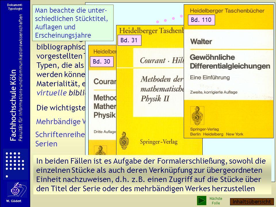 Weitere Dokumenttypen Beiträge in Sammelwerken oder in Zeitschriften Bilder Videos CDs Filme Normen Patentschriften Webseiten Handschriften Frühdrucke