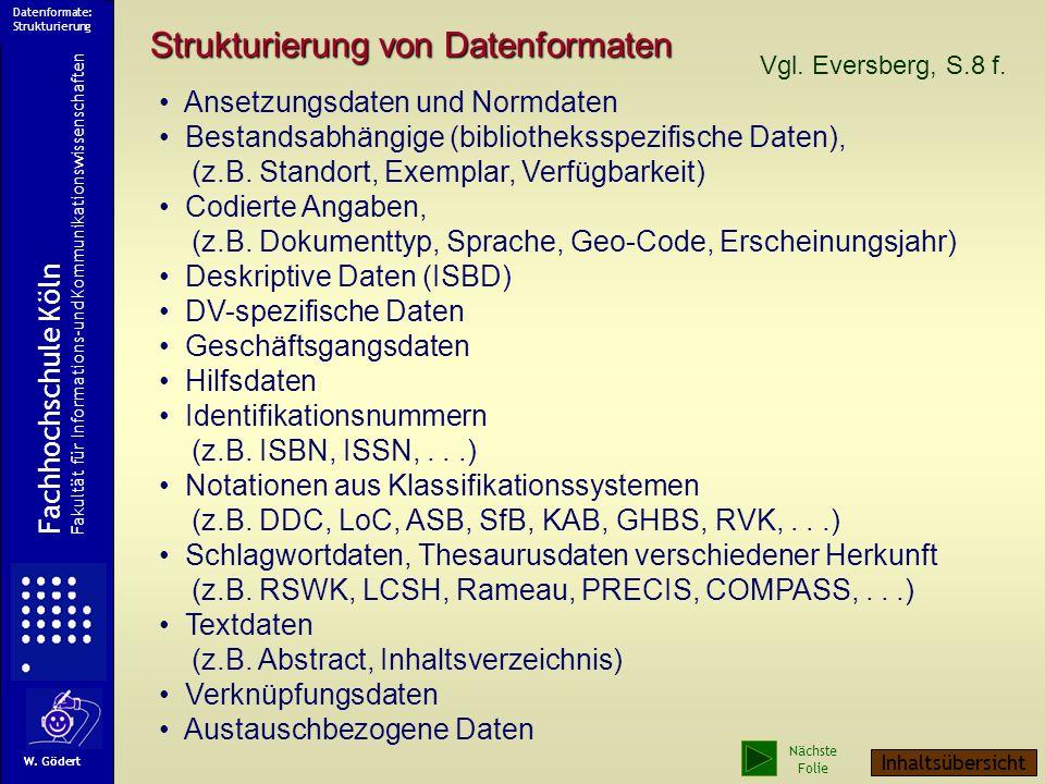 Ein Beispiel Struktur der Felder 001-079 Codes 089-090 Bandangaben 1xx Personen 2xx Körperschaften 3xx Sachtitel 400-437 Ausgabe, Umfang, Beigaben 451