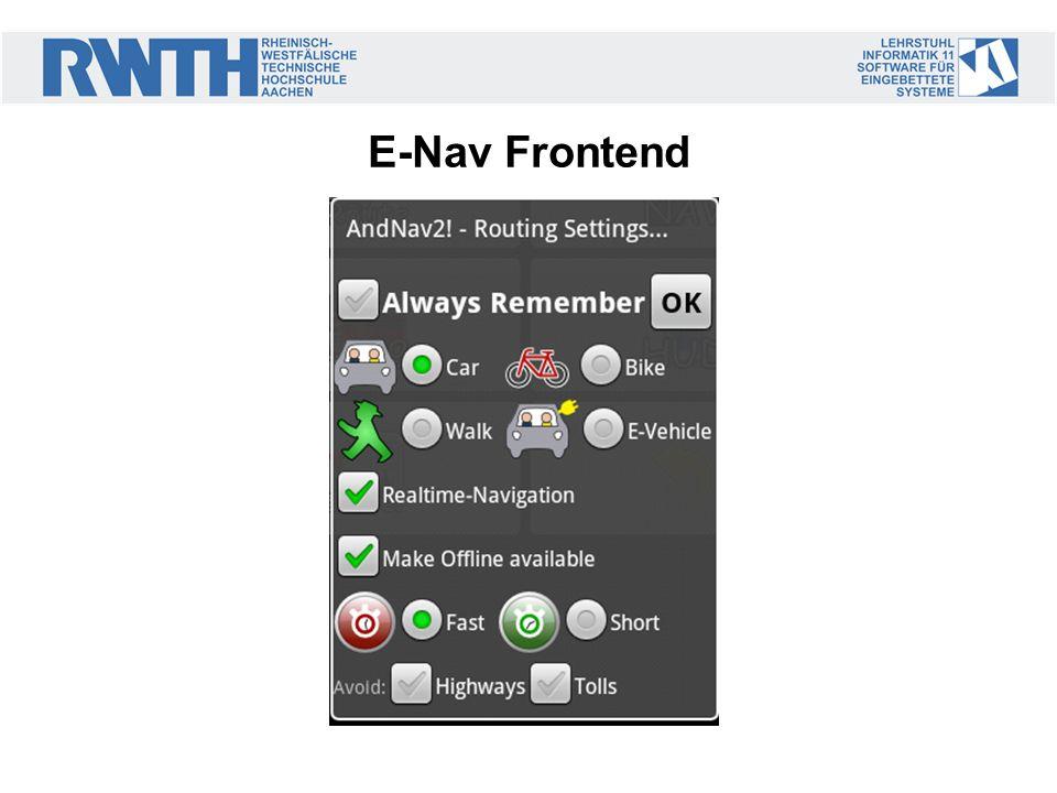 E-Nav Frontend