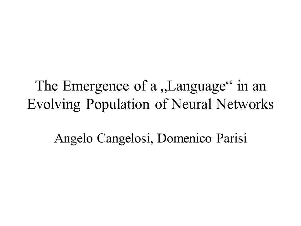 Fragen Wie verändert sich die Leistung der Netze durch Sprache.