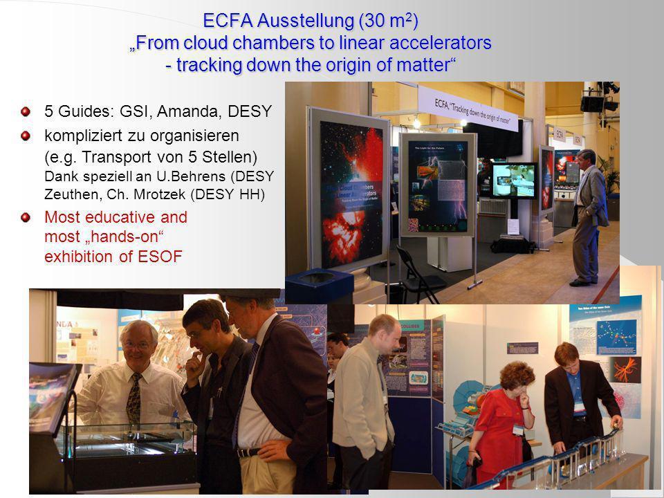 4) Linear Collider Outreach: Europ.