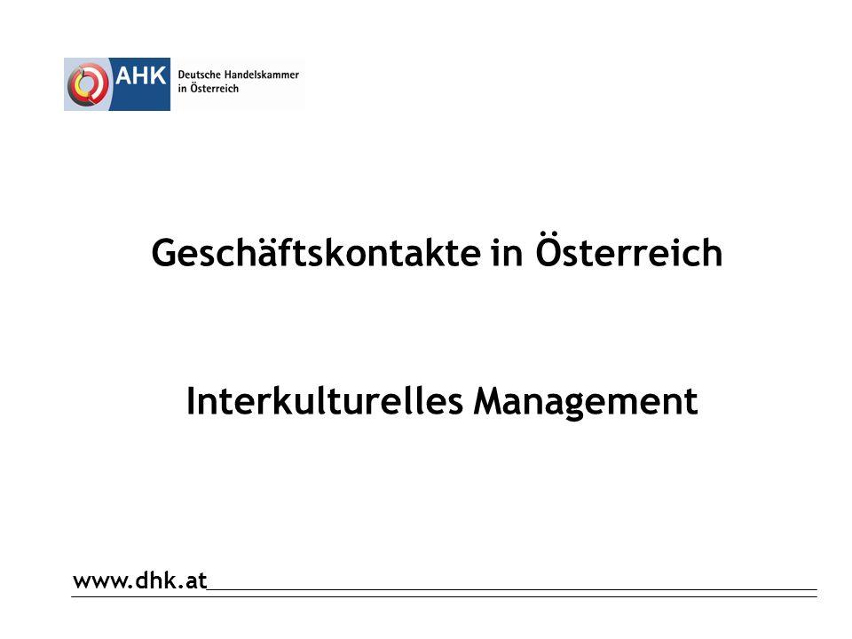 Umsatzsteuern in Österreich www.dhk.at