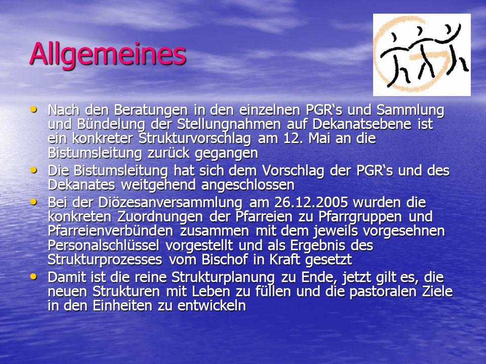 Ziele des Bistumsprozesses für 2008: 1.