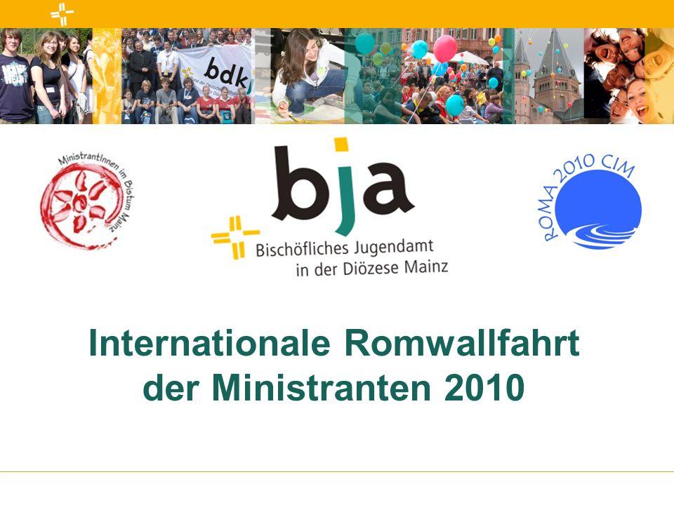 Internationale Romwallfahrt der Ministranten 2010
