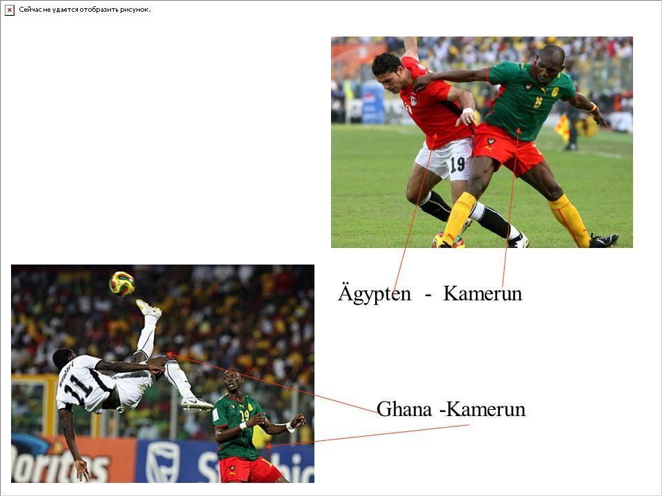 Das Maskottchen vom Afrika-Cup.