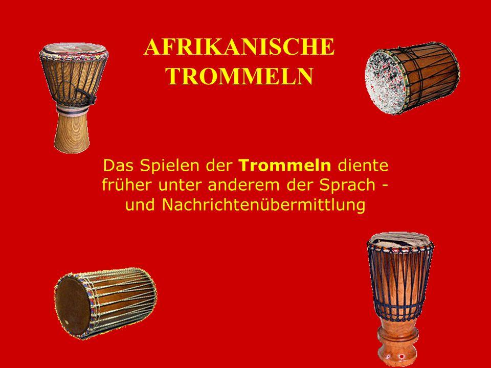 . In Afrika gehören Musik, Tanz und Gesang untrennbar zusammen und sind tief verwurzelt im Alltagsbewusstsein der Menschen Tänze in Afrika