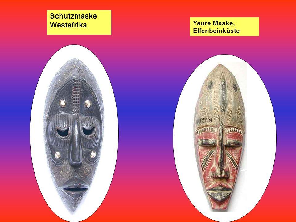 Senufo Maske, Westafrika, Elfenbeinküste Hunu Maske Baule, Elfenbeinküste, Westafrika