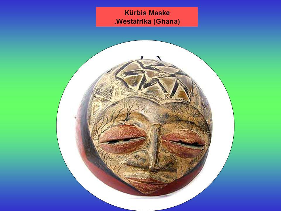 Schutzmaske Westafrika Yaure Maske, Elfenbeinküste