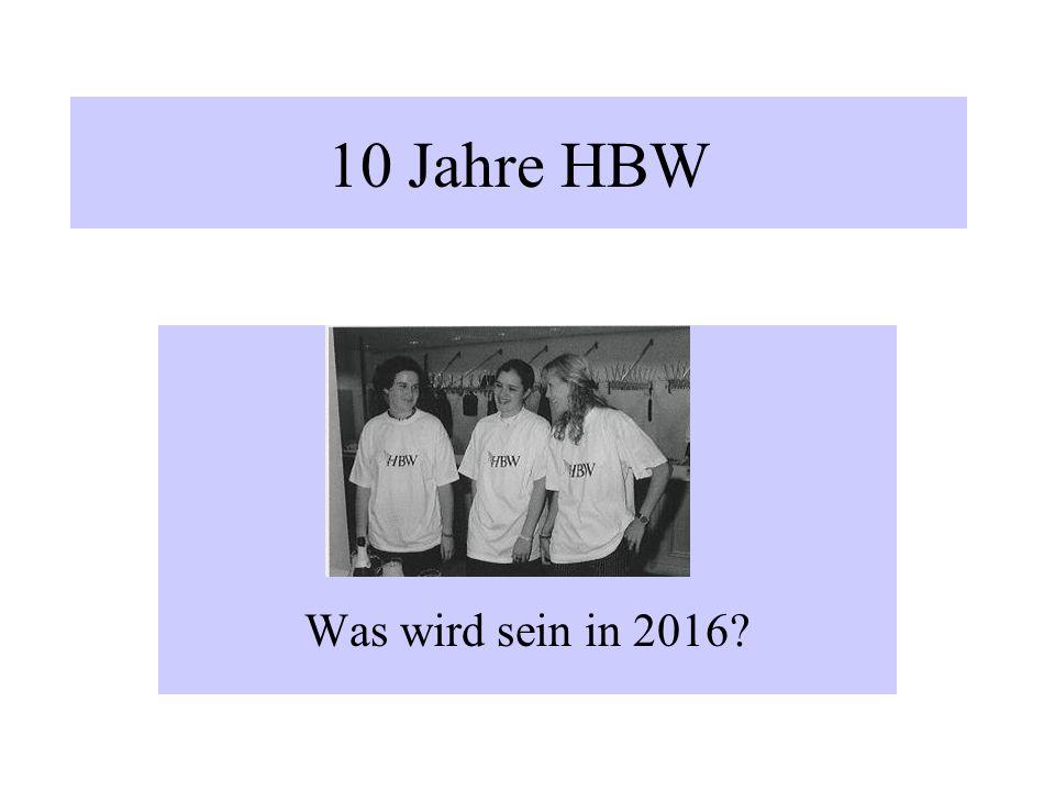 Fazit: Die Verein im HBW - haben sich ordentlich entwickelt Der Verband HBW kann melden - die sportlichen Erfolge sind gestiegen - die Mitgliederzahle