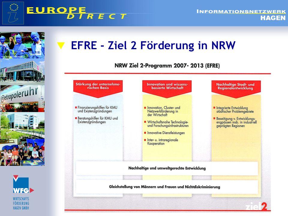 EFRE - Ziel 2 Förderung in NRW HAGEN