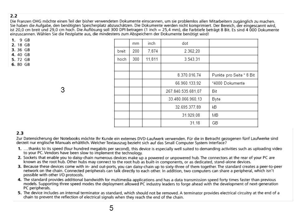 mminchdot breit2007,874 2.362,20 hoch30011,811 3.543,31 8.370.016,74Punkte pro Seite * 8 Bit 66.960.133,92*4000 Dokumente 267.840.535.681,07Bit 33.480