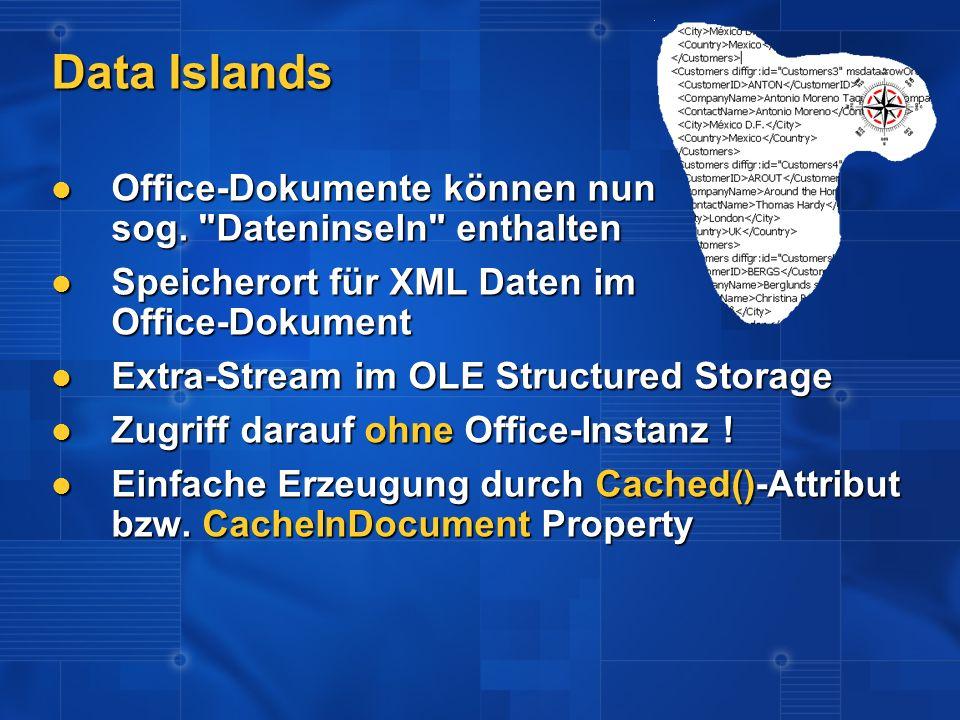 Data Islands Office-Dokumente können nun sog.