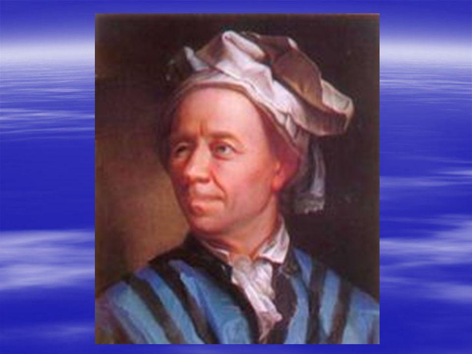 Leonhard Euler: Geb.1707 in der Deutschen Schweiz Geb.