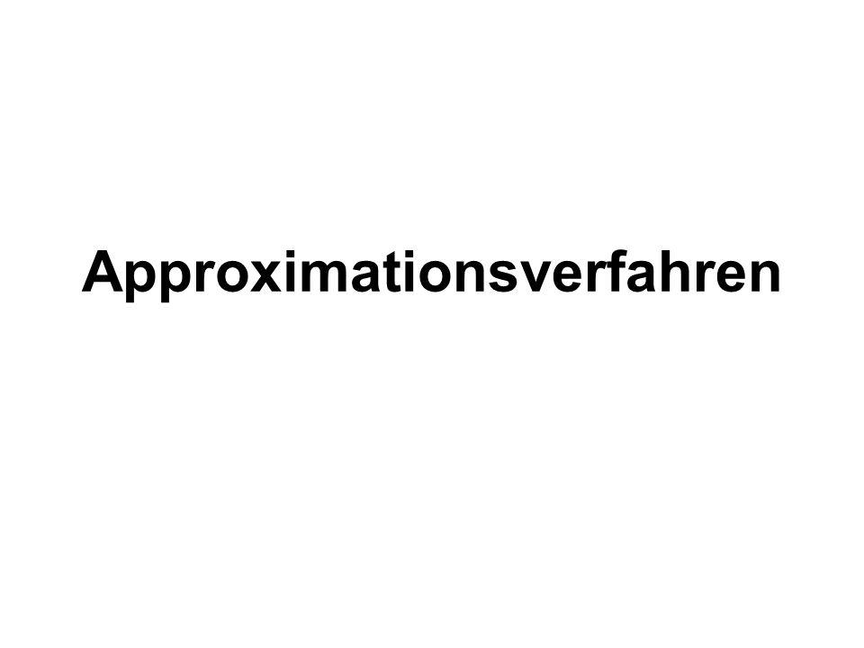 Approximationsverfahren