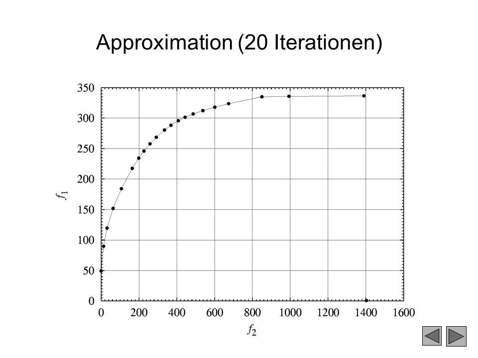 Approximation (20 Iterationen) y0y0