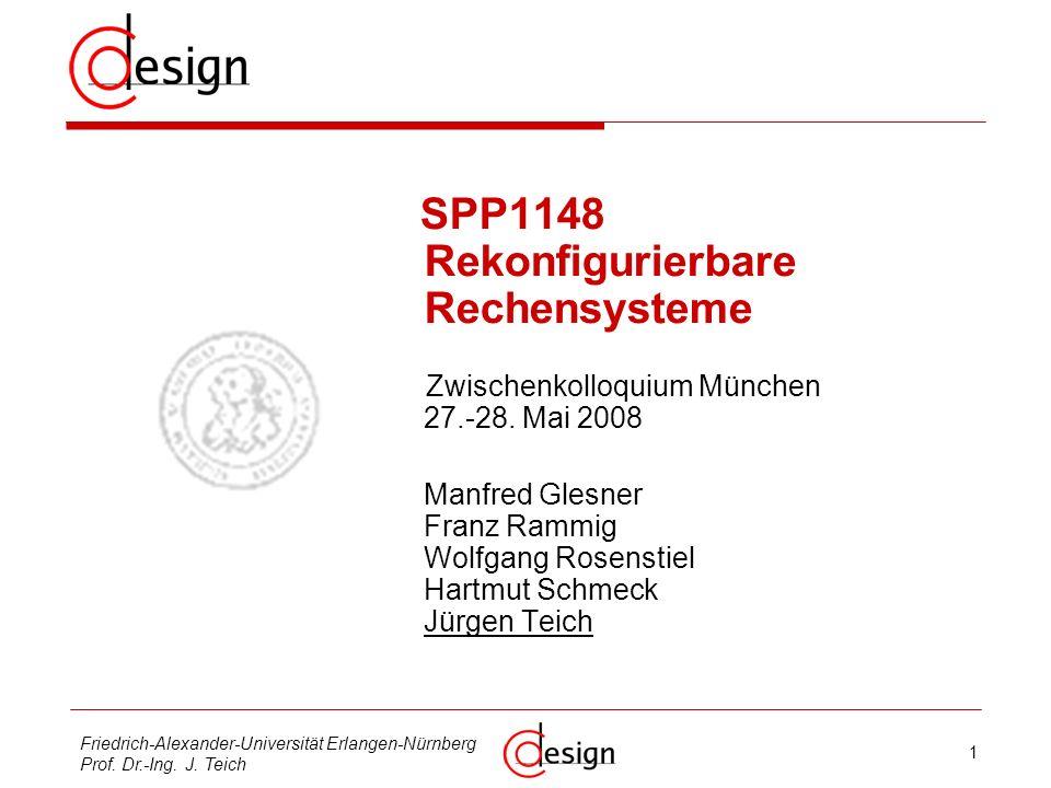 2 Friedrich-Alexander-Universität Erlangen-Nürnberg Prof.